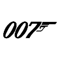 007 Die Cut Vinyl Decal PV560