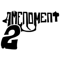 2 Amendment Die Cut Vinyl Decal PV444
