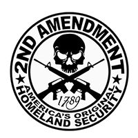 2nd Amendment Die Cut Vinyl Decal PV420