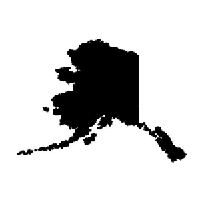 Alaska Die Cut Vinyl Decal PV1007