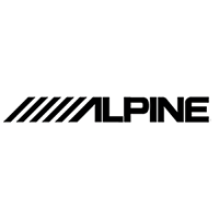 Alpine Die Cut Vinyl Decal PV307