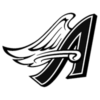 Anahiem Angels Die Cut Vinyl Decal PV164