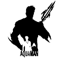 Aquaman Die Cut Vinyl Decal PV2230