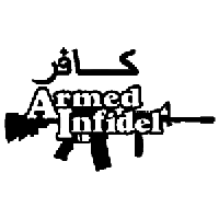 Armed Infidel Die Cut Vinyl Decal PV1852