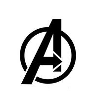 Avengers Die Cut Vinyl Decal PV1844