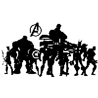 Avengers Die Cut Vinyl Decal PV1889
