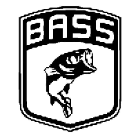 BASS Die Cut Vinyl Decal PV1086