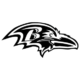 Baltimore Ravens NFL Die Cut Vinyl Decal PV623
