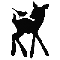 Bambi Die Cut Vinyl Decal PV769