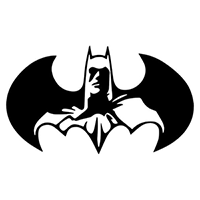 Batman Die Cut Vinyl Decal PV2258