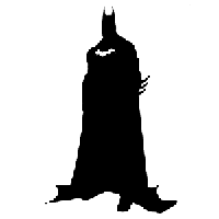 Batman Die Cut Vinyl Decal PV603