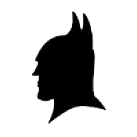 Batman Die Cut Vinyl Decal PV608