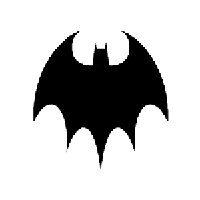 Batman Die Cut Vinyl Decal PV644