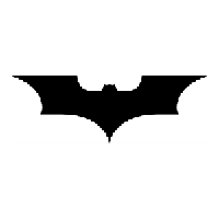 Batman Begins Die Cut Vinyl Decal PV174