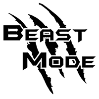 Beast Mode Die Cut Vinyl Decal PV2324