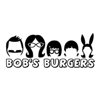 Bobs Burgers Die Cut Vinyl Decal PV2128