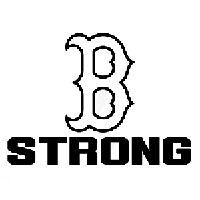 Boston Strong Die Cut Vinyl Decal PV1089