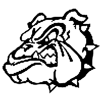 Bulldog Die Cut Vinyl Decal PV591