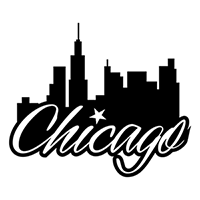 Chicago Die Cut Vinyl Decal PV303