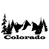 Colorado Die Cut Vinyl Decal PV2399