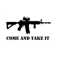 Come and Take It Die Cut Vinyl Decal PV2299
