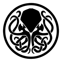 Cthulhu Badge Die Cut Vinyl Decal PV1932