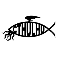 Cthulhu Fish Die Cut Vinyl Decal PV2131