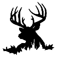 Deer Die Cut Vinyl Decal PV985