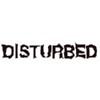Disturbed Die Cut Vinyl Decal PV453