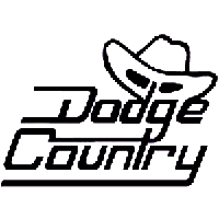 Dodge Country Die Cut Vinyl Decal PV1317