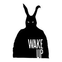 Donnie Darko Wake Up Die Cut Vinyl Decal PV1945
