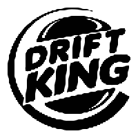 Drift king Die Cut Vinyl Decal PV436