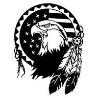 Eagle Die Cut Vinyl Decal PV2277
