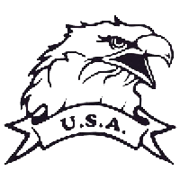 Eagle USA Die Cut Vinyl Decal PV440
