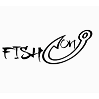 Fish On Die Cut Vinyl Decal PV2161