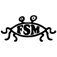 Flying Spaghetti Monster Die Cut Vinyl Decal PV2139