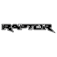 Ford Raptor Die Cut Vinyl Decal PV2158