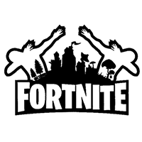Fortnite Die Cut Vinyl Decal PV2349