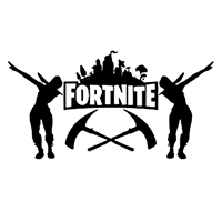 Fortnite Die Cut Vinyl Decal PV2420