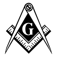 Grange Free Masons Die Cut Vinyl Decal PV246