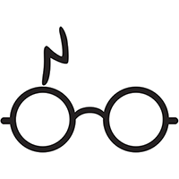 Harry Potter Die Cut Vinyl Decal PV383