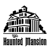 Haunted Mansion Die Cut Vinyl Decal PV2246
