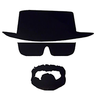 Heisenburg Die Cut Vinyl Decal PV324