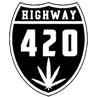 Highway 420 Die Cut Vinyl Decal PV2405