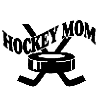 Hockey Mom Die Cut Vinyl Decal PV1093