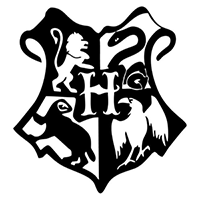 Hogwarts Die Cut Vinyl Decal PV2339