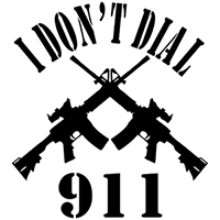I dont call 911 Die Cut Vinyl Decal PV1935