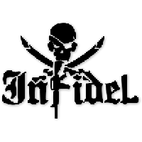Infidel Die Cut Vinyl Decal PV1851