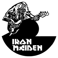 Iron Maiden Die Cut Vinyl Decal PV2338