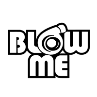 JDM Blow Me Die Cut Vinyl Decal PV2284